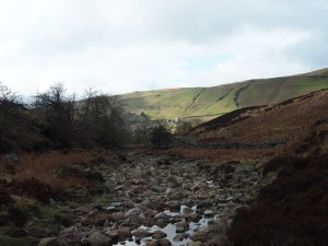 Ease Gill looking towards Barbon Low Fell