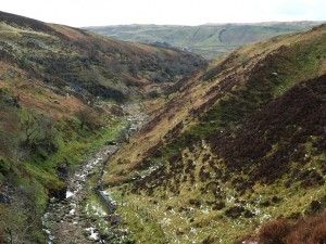 Looking back along Ease Gill