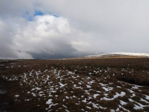 Crossing Casterton Fell with Crag Hill to the right
