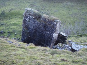 Split rocks on Ellerton Scar