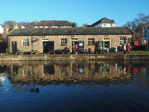 The Five Rise Locks Cafe