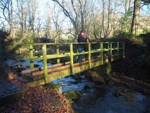 Crossing over Morton Beck