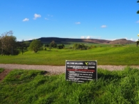 About cross the golf course at Skipton