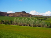 Embsay Crag from the golf course