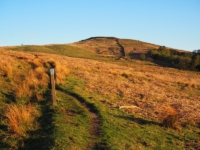 Following the bridleway on to Flasby Fell