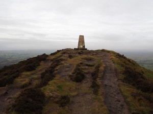 The summit of Sharp Haw