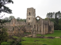 Fountains Abbey, we'll be taking a closer look later.