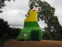 The modern folly called Polly on Tent Hill