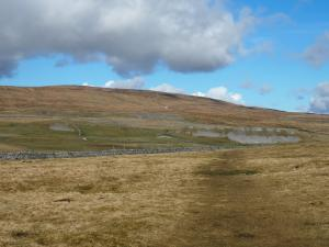 Fountains Fell comes back into view