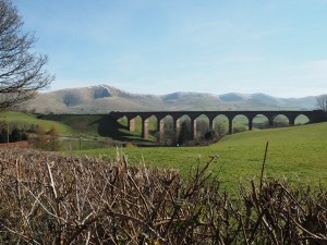 Looking back at Lowgill Viaduct