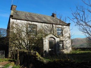 The abandoned house next to High House Farm