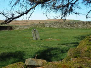 The small graveyard next to Fox's Pulpit