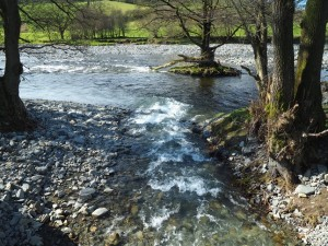 Chapel Beck joing the River Lune