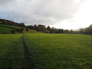The path to High Fremington