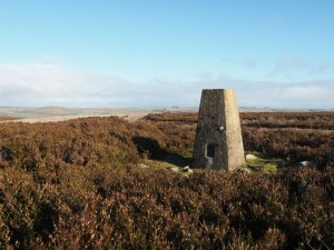 The Copperthwaite Moor trig point