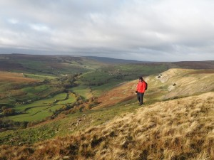 On Fremington Edge there are stunning views of Arkengarthdale