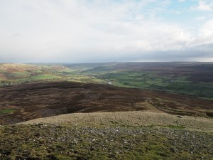 Swaledale from Calver Hill