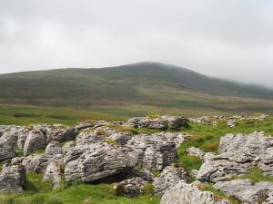Looking back at Little Ingleborough