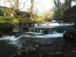 The series of small falls just above Lofthouse