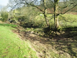 The dry bed of the Nidd above below Goyden Pot