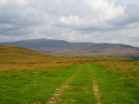 Looking back along Turbary Road towards Whernside