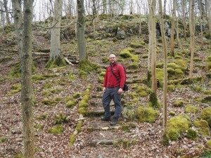 The steps leading to Fort Gregory