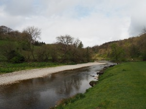 The River Wharfe below Lower Grass Wood