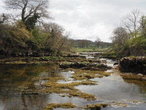 The Wharfe below Ghasitrill's Strid