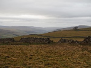 A glimpse of Wharfedale