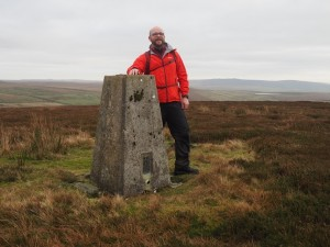 By the New Pasture Edge trig point