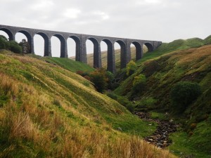 Approaching Arten Gill Viaduct