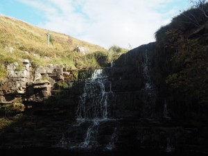 One of the waterfalls in Arten Gill