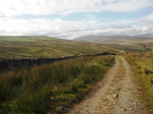 Wold Fell and Whernside from the head of Arten Gill