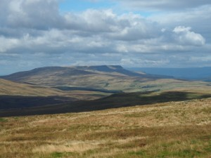 Wild Boar Fell and Swarth Fell