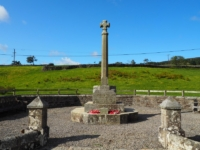 The Arkengarthdale war memorial