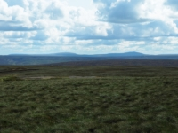 Looking south towards Great Whernside and Buckden Pike