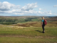 Arkengarthdale views from Turf Moor