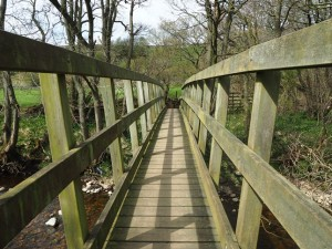 Caygill Foot Bridge