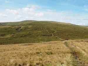 Getting closer to  Great Shunner Fell