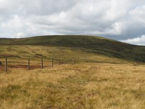 Looking back at Great Shunner Fell