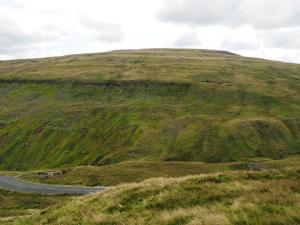 Looking across the Buttertubs Pass at Lovely Seat