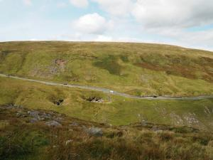 Looking back down at the Buttertubs