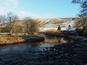 The River Wharfe at Kettlewell