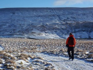 Heading towards Great Whernside
