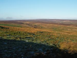 Hardcastle Moor from the parking spot