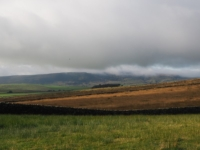 Low cloud on the top of Thorpe Fell