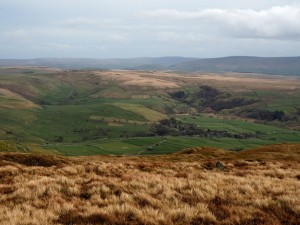 Malhamdale from Kirkby Fell