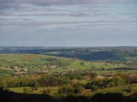 The view south towards Harrogate