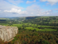 Nidderdale from Guise Cliff