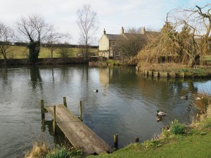 The duck pond at Grewelthorpe